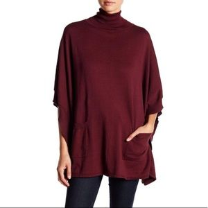 NWT- Bobi oversized pocket poncho